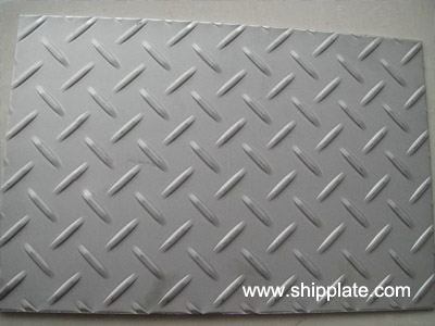 High Quality Checkered Steel Plate
